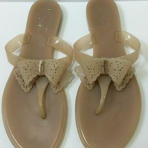 Salvatore Ferragamo PVC flip flops